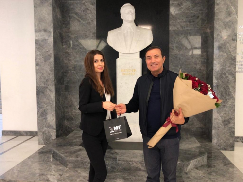 Mansum Ibrahimov, the ambassador of philosophy of success at VMF, celebrates his birthday